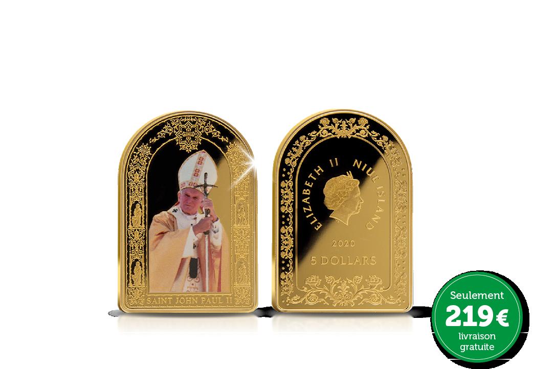 La Pièce Commémorative Officielle des 100 ans de Jean-Paul II