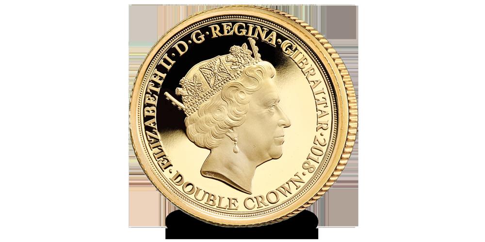 Pièce commémorative Edition Limitée : La Porte de Menin en or de 9 carats.