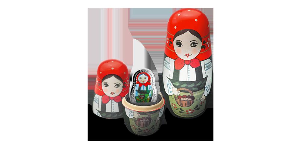 La monnaie Poupée Russe est maintenant disponible !