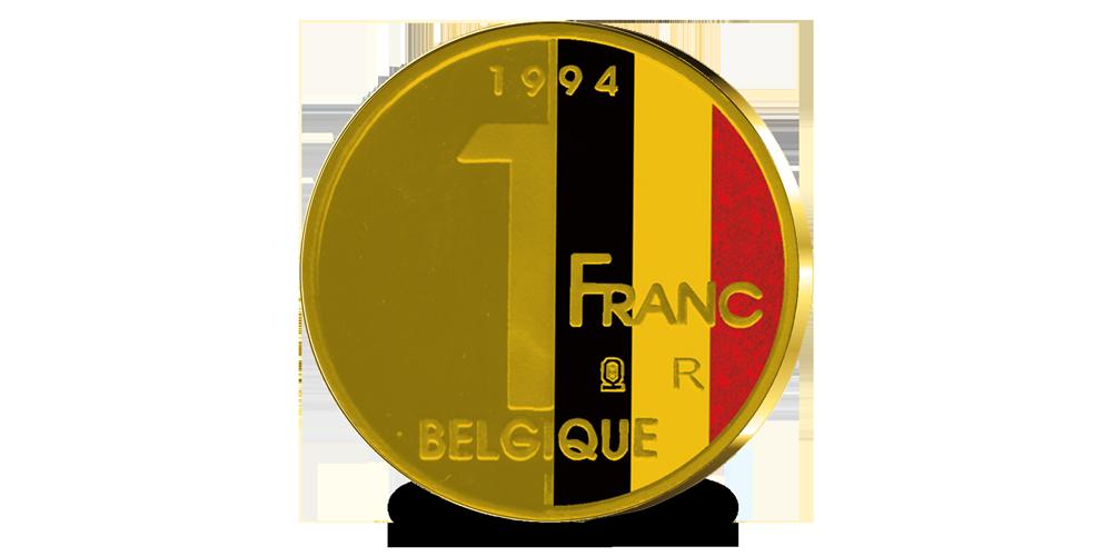 Reproduction des 1 Franc Roi Albert II 1994