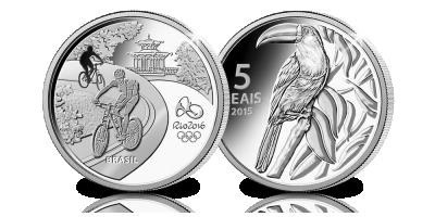 La pièce officielle Rio 2016 extrêmement rare en argent massif