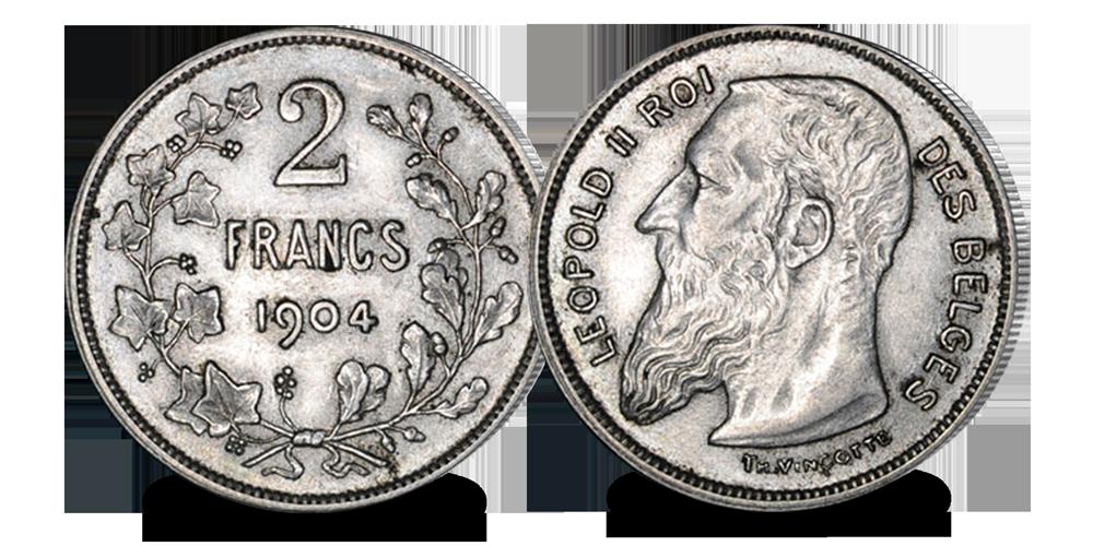 ensembleLéopoldIIlargebarbe-2-Francs