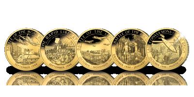 5 pièces de grande qualité rendant tangible la route de notre liberté