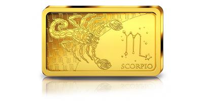Votre lingot Scorpion en or pur