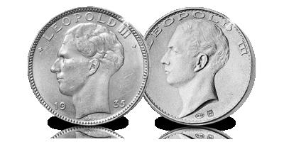 Les 20 Francs de Léopold III en argent, enfin dans 1 ensemble