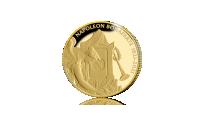 Commémorez le 200e anniversaire de la mort de Napoléon Bonaparte avec une pièce en or 24 carats avers