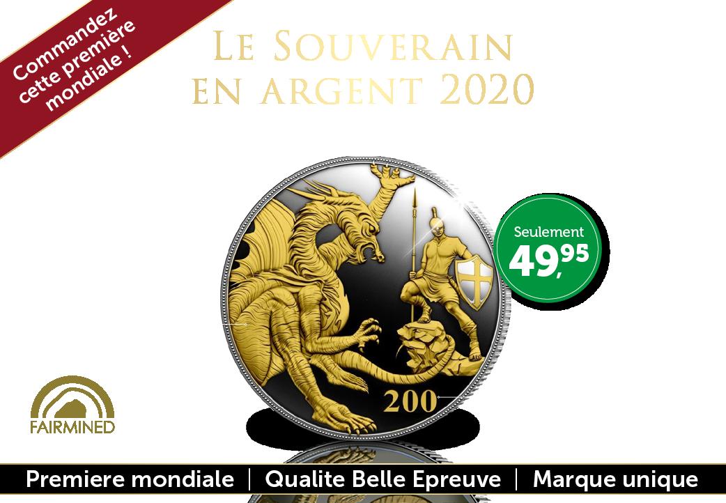 Le souverain en argent 2020 !