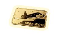 Le dernier lingot d'or massif 24 carats – Les 40 ans de la Space Shuttle !