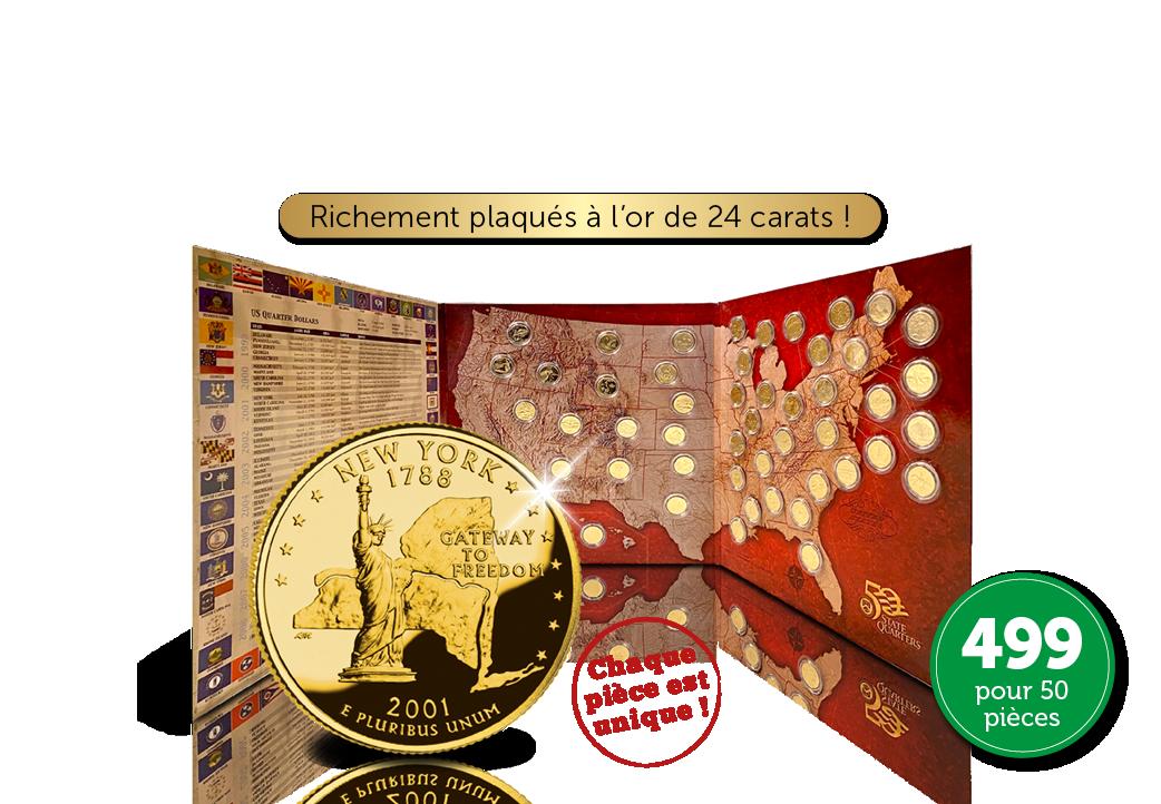 Commandez maintenant cet ensemble complet de Dollars commémoratifs !