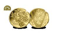 Pièce commémorative de prestige en or pur Fairmined 1/4 oz