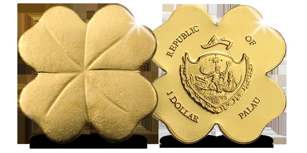 Les formes les plus spéciales maintenant en pièces d'or pur ! Début d'une collection.