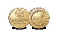 La Pièce Commémorative Euro UEFA | NOUVEAU 2021 | Coincard: Flamand avers revers