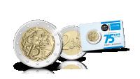 Pièce commémorative de 2 euros de l'UNICEF en qualité de preuve image d'ensemble