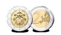 La pièce de 2 Euros de la Cité du Vatican de 2013 – Sede Vacante