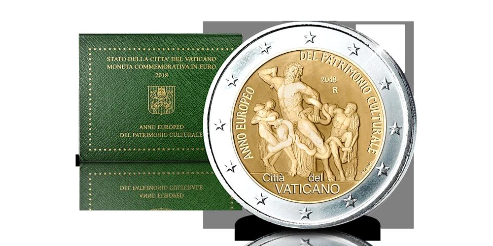 Acheter des pièces en ligne | Pièces de 2 euros | Cité du Vatican 2018