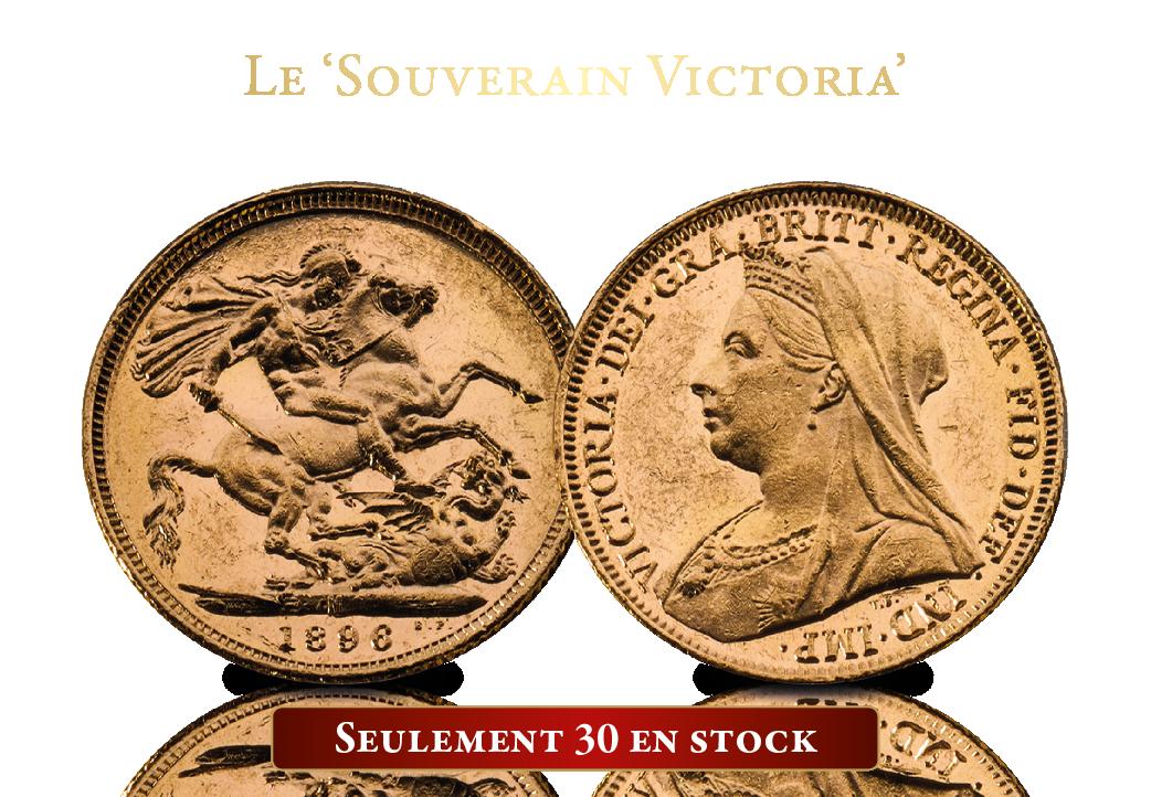 Le souverain Victoria. Pour vous temporairement non pas 699 € mais seulement 349 €.