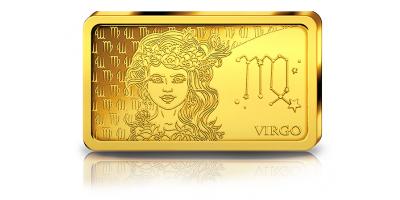 Votre lingot Vierge en or pur
