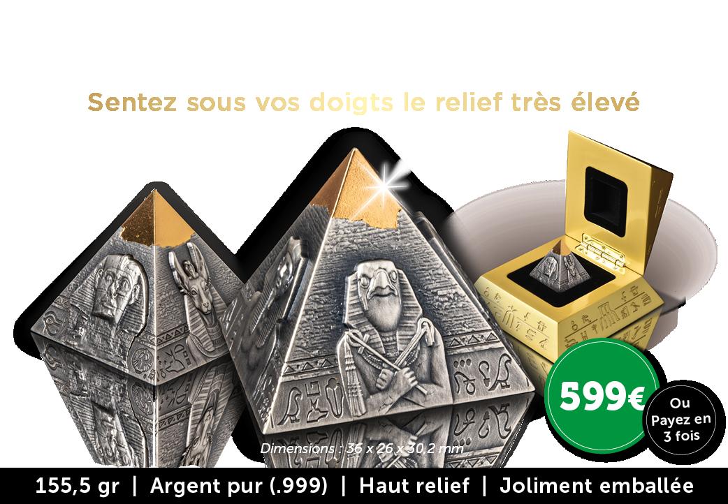 Exclusive pièce pyramide 3 D !
