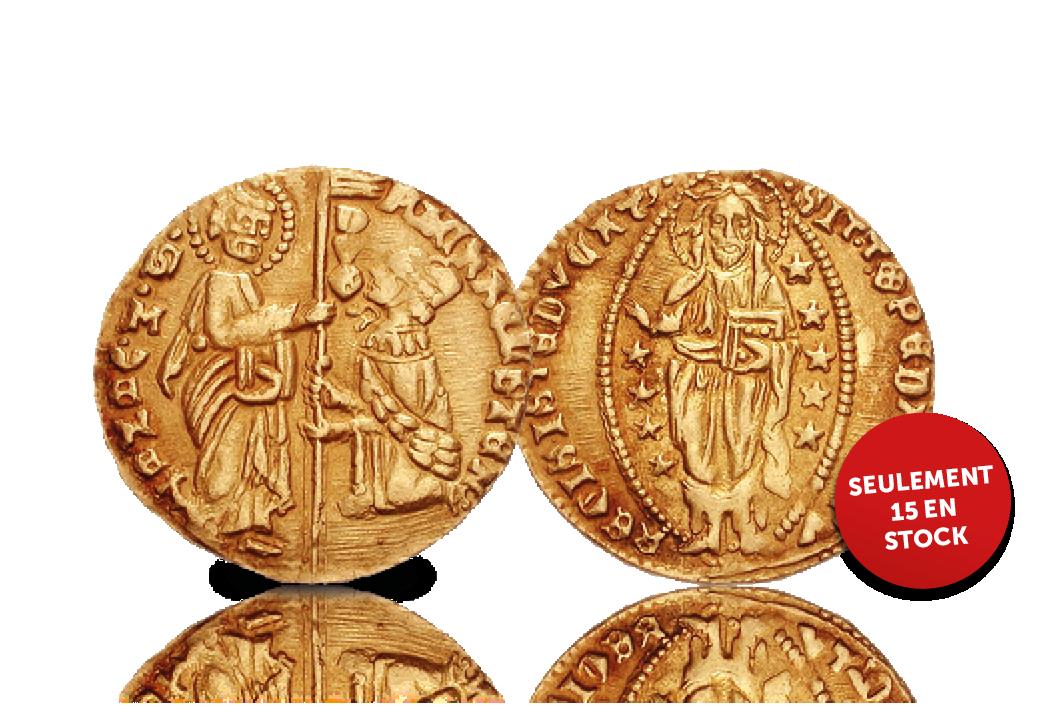 Devenez l'un des rares collectionneurs étant propriétaire d'un Zecchino d'Oro