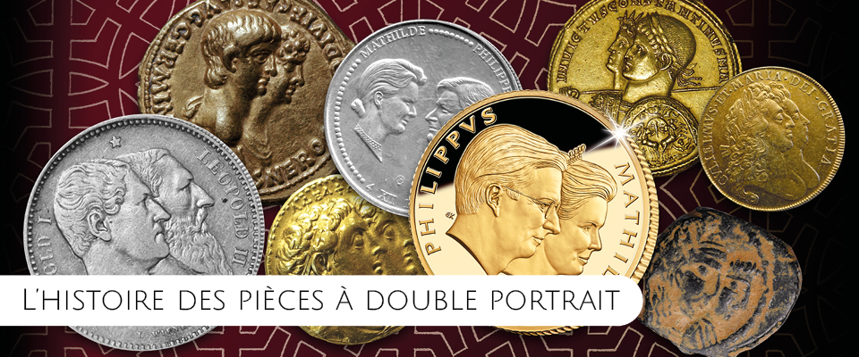 Les Doubles Portraits Royaux en Or